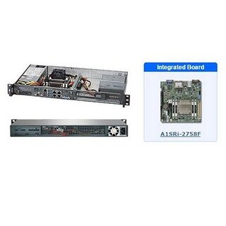 Supermicro 1U Rackmount Server Barebone System Components Sys-5018A-Ftn4