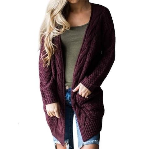 Large Size Multicolor Pocket Jacket Ladies