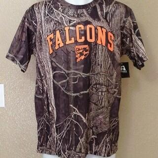AHL Springfield Falcons Adult Medium M Camo Athletic Shirt
