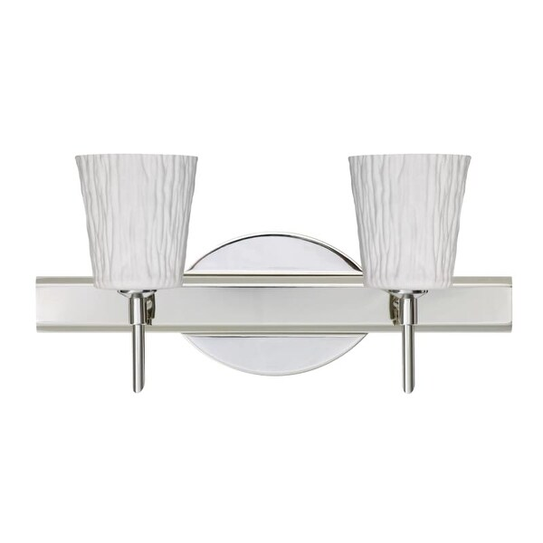 Shop Besa Lighting SWOS Nico Light Reversible Halogen - Halogen bathroom vanity lights