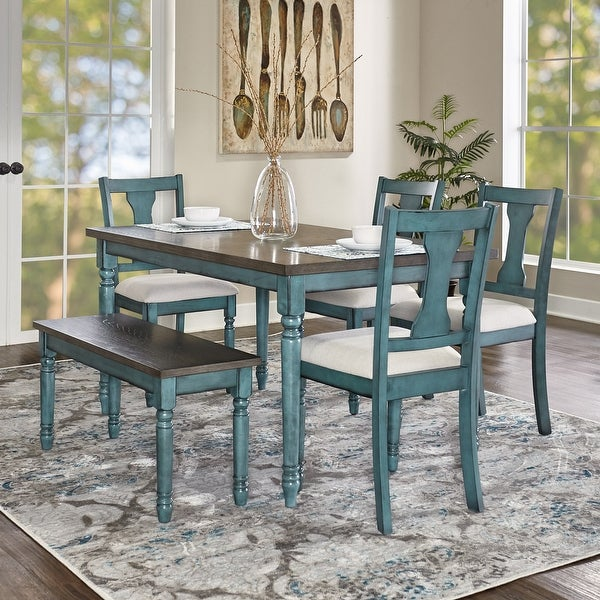 Willow Modern Farmhouse 6-piece Dining Set. Opens flyout.