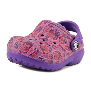 Crocs Roomy Fit Round Toe Synthetic Clogs