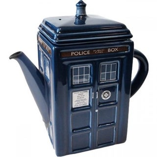 Doctor Who Tardis Ceramic Tea Pot - Multi
