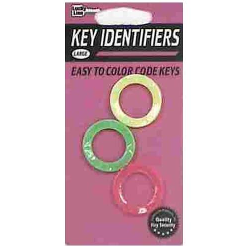 Hy-Ko KC132 Identifier Key Assorted colors CD/3