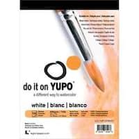 "White 74Lb - Yupo Paper 5""X7"" 10 Sheets/Pkg"