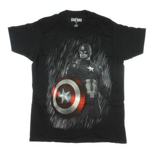 Marvel Captain America: Civil War Captain America Rain T-Shirt