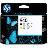 HP 940 Black and Yellow Original Printhead (C4900A) (Single Pack)