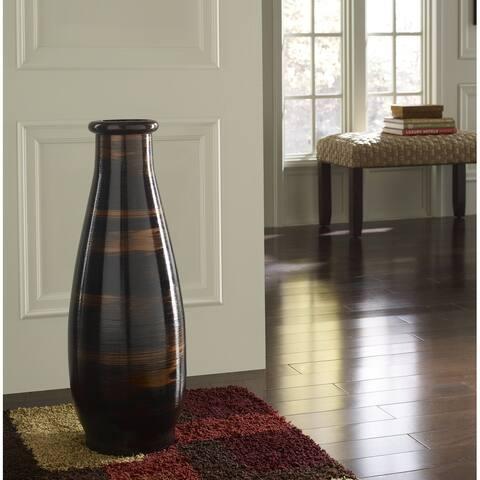 Copperworks 30 in. Floor Vase