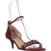 Nine West Lioness Ankle-Strap Sandals, Red Multi