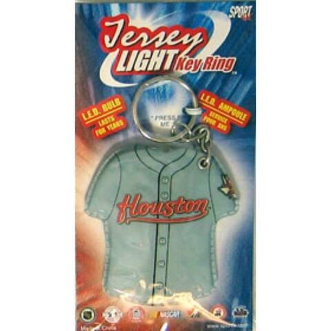Houston Astros Keychain - Jersey Keylight