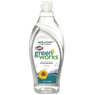 Green Works 30172 Natural Dishwashing Liquid, 22 Oz
