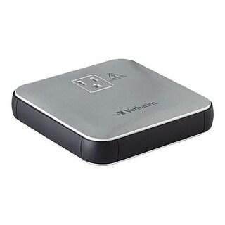 Verbatim AC/USB Portable Power Outlet Power Outlet