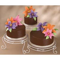 Cake Display Set Wilton Treat Appetizer Cupcake Birthday Party Stand 15 Pieces