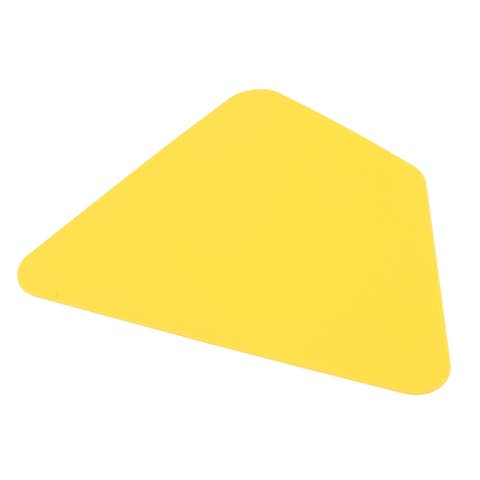 Kitchen Plastic Baking Tool Pizza Cake Dough Pastry Butter Scraper Cutter Yellow