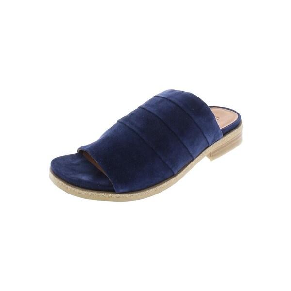 7fb5be832 Shop Gentle Souls Womens Gayle Slide Sandals Suede Open Toe - Free ...