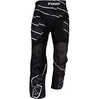 Tour Hockey Mens Code Activ Adult Hockey Pants, Black