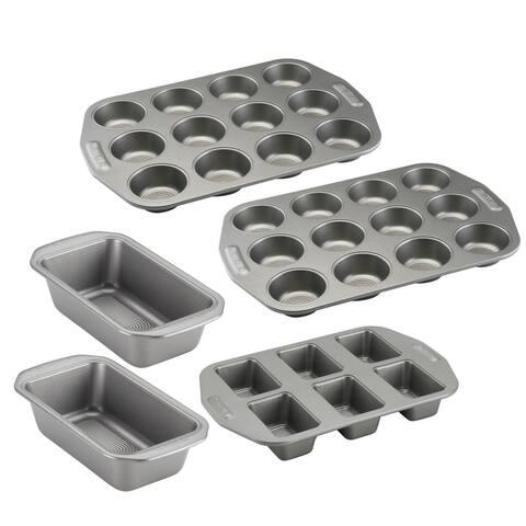 Circulon Nonstick Bakeware Quick Bread Baking Set, 5-Piece