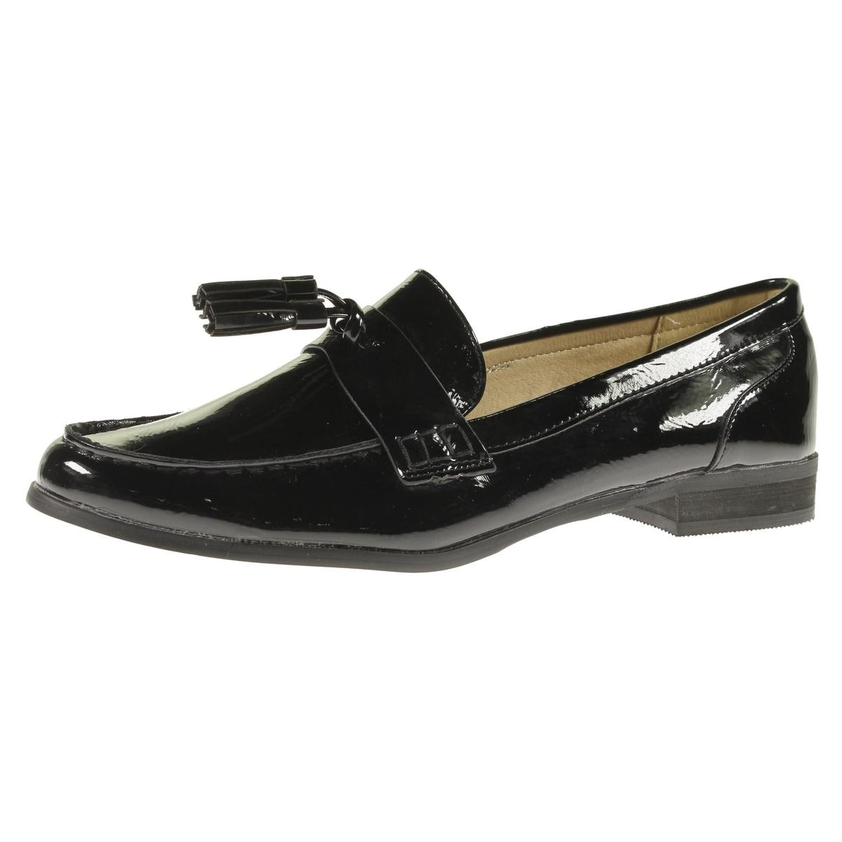 Steve Madden Womens Franco Loafers Patent Tassel (2 options available)