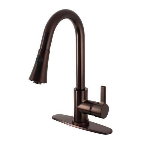 Kingston Brass LS872.CTL Continental 1.8 GPM Single Hole Pull Down