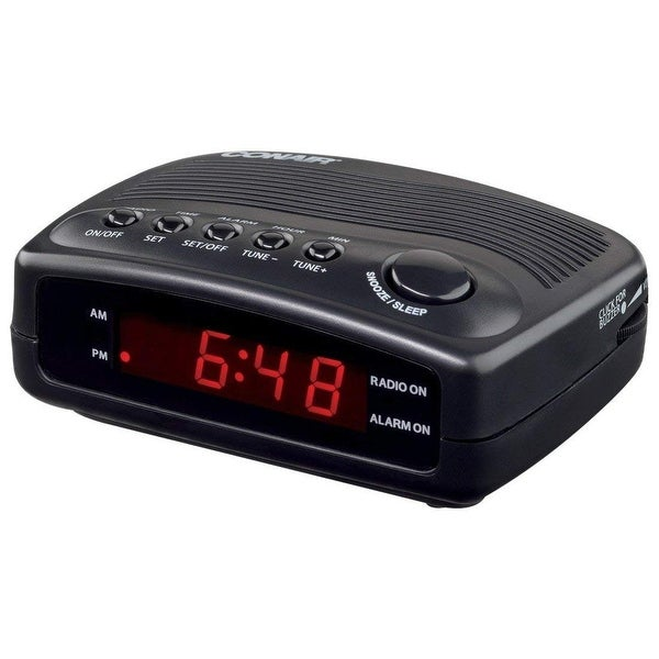 Conair Hospitality WCR02 Conair Hospitality WCR02 Desktop Clock Radio - 1 x Alarm