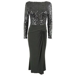 Lauren Ralph Lauren Women's Jersey Sequined Gown