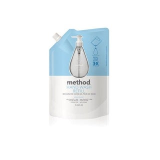 Method 00652 Gel Hand Wash Refill, Sweet Water, 34 Oz