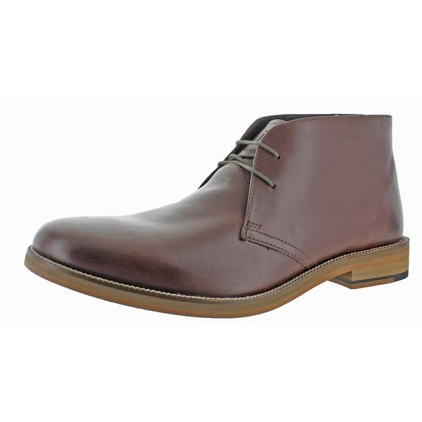 Crevo Dorville Men's Leather Chukka Boots
