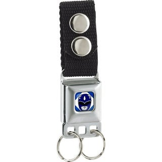 Diamond Blue Ranger Head Full Color Keychain