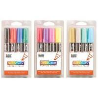 Uchida - DecoColor Acrylic Paint Marker Set - Metallic Set