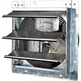 iLiving USA 12 in. Variable Speed Shutter Wall-Mounted Exhaust Fan