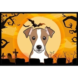 Carolines Treasures BB1818JMAT Halloween Jack Russell Terrier Indoor & Outdoor Mat 24 x 36 in.