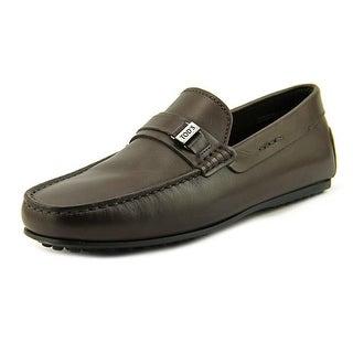 Tod's Morsetto Piastra Fondo Gomma Ou Round Toe Leather Loafer