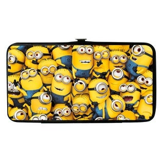 Buckle Down Kids' Despicable Me Minion Hinged Card Case Wallet - minions - One Size