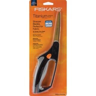 """Fiskars Titanium Easy Action Scissors 8""""-"""