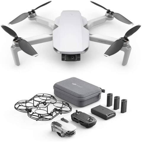 DJI Mavic Mini Combo Ultralight and Portable Drone, 30Min Battery,