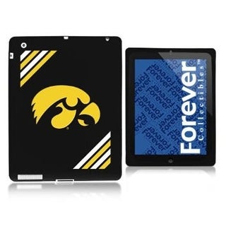 University Of Iowa NCAA iPad Soft Silicone Tablet Case - multi