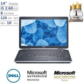 """Dell Latitude E6430, Core i5, 8GB, 120GB SSD, 14"""" Display, Win 10 Pro Laptop - Black"""