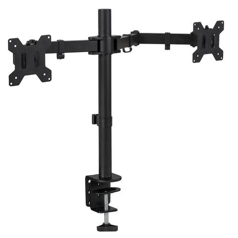 Mount-It! Dual Monitor Mount Desk Stand for LCD LED Computer Displays