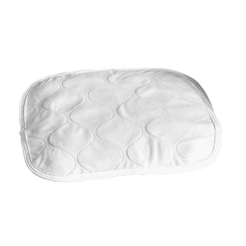 """Salk HaloShield Incontinence Chair Pad - Reusable, Washable, Soft, Absorbent, Waterproof - 16 3/4"""" - White"""