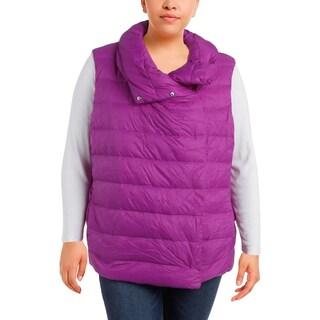 Lauren Ralph Lauren Womens Outerwear Vest Down Funnel Neck - xL
