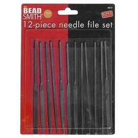 Beadsmith Needle Files - Set Of 12 - Wire Wrapping!