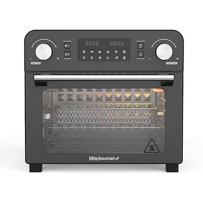 Elite Gourmet 23L Digital Air Fryer Oven Black EAF9310