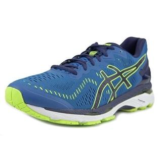 Asics Gel-Kayano 23  Men  Round Toe Synthetic Blue Running Shoe