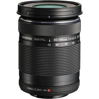 Olympus M. Zuiko Digital ED 40-150MM F4.0-5.6R Micro 4/3 Zoom Lens (Black)
