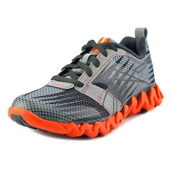 reebok zigtech shark 3.0 ex round toe synthetic running shoe