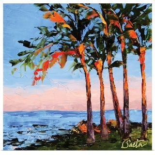 Leslie Saeta Poster Print entitled Hawaii Shores