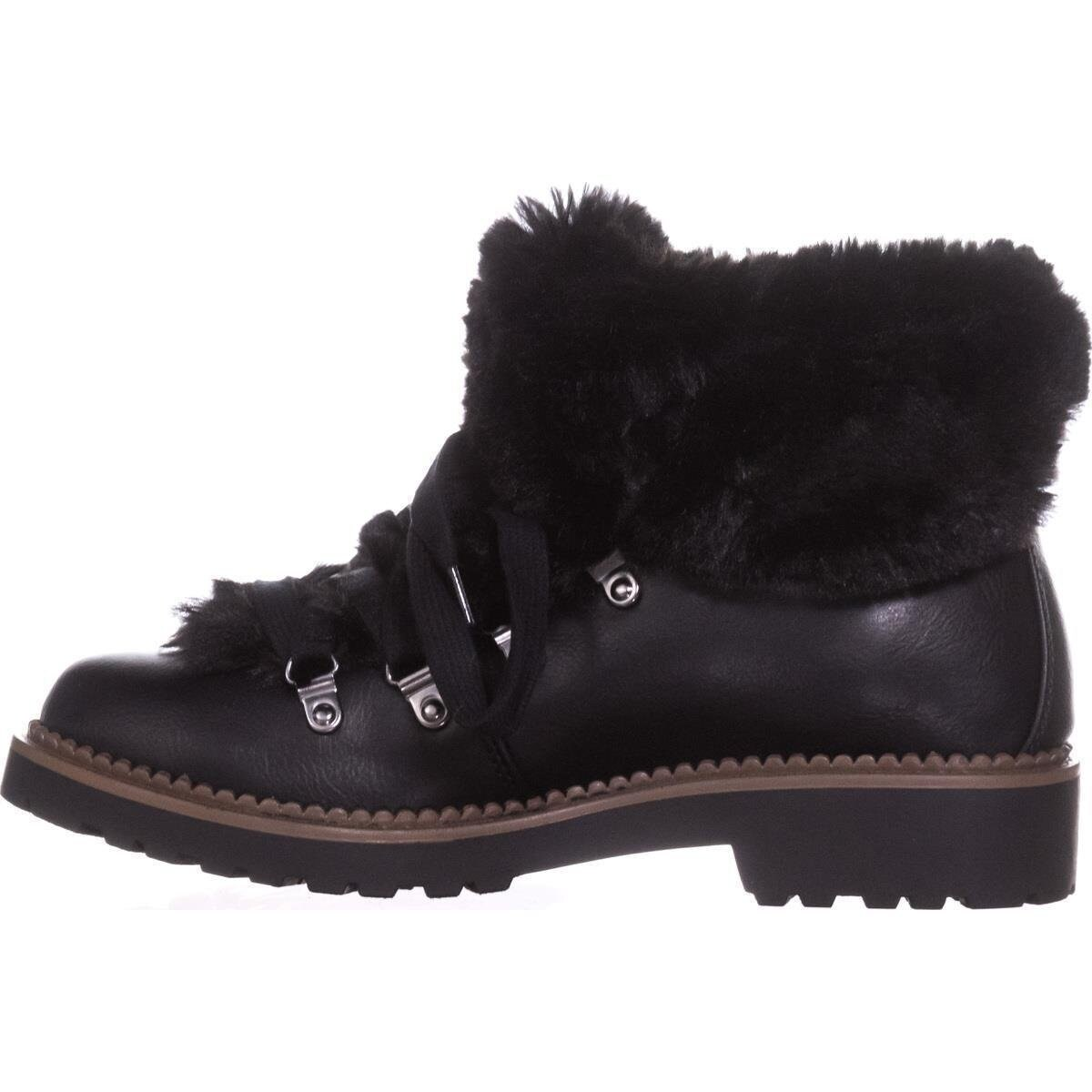 pretty nice 6a956 5db26 ESPRIT Womens cameron-e Faux Fur Closed Toe Ankle Cold Weather Boots