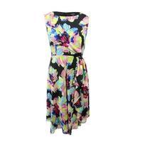 6d8890c58279f Shop Tahari ASL Womens Midi Dress Lace Embroidered - 8 - Free ...