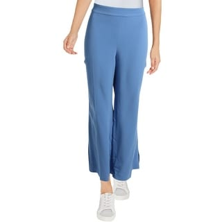 Link to Kobi Halperin Womens Meg Pants Wide Leg Side Slit Similar Items in Living Room Furniture