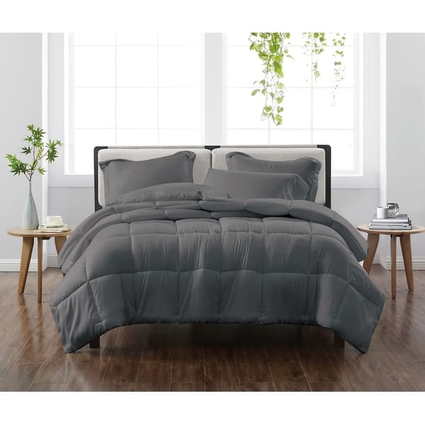 Cannon Heritage Solid 3 Piece Down Alternative Comforter Set On Sale Overstock 32232645